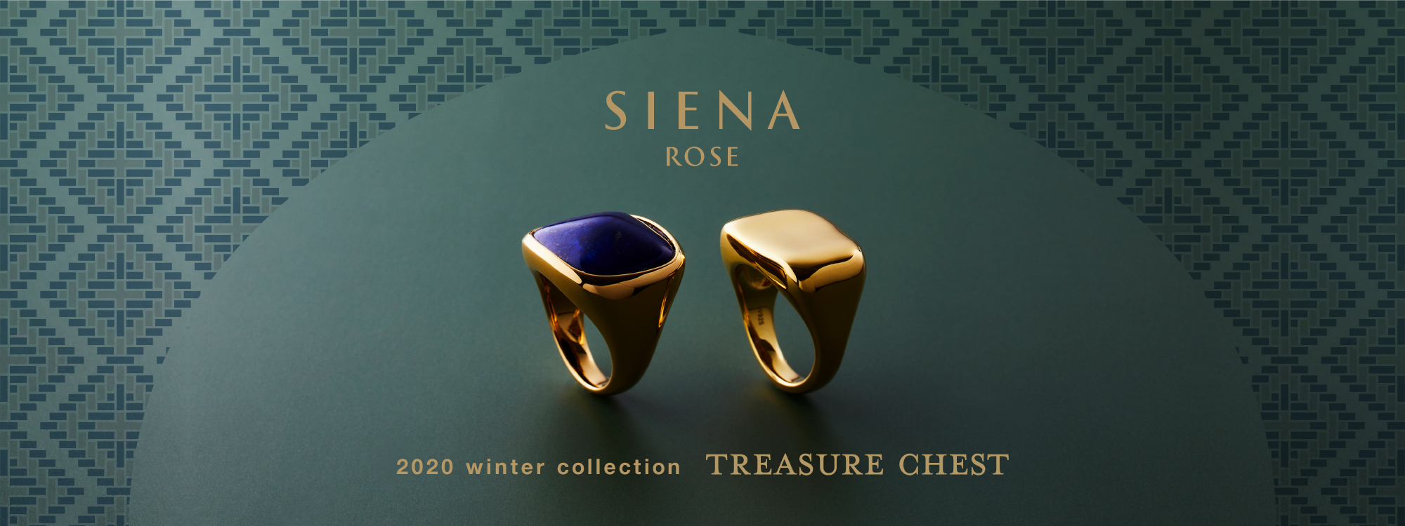 SIENA ROSE 2020 winter collection TREASURE CHEST